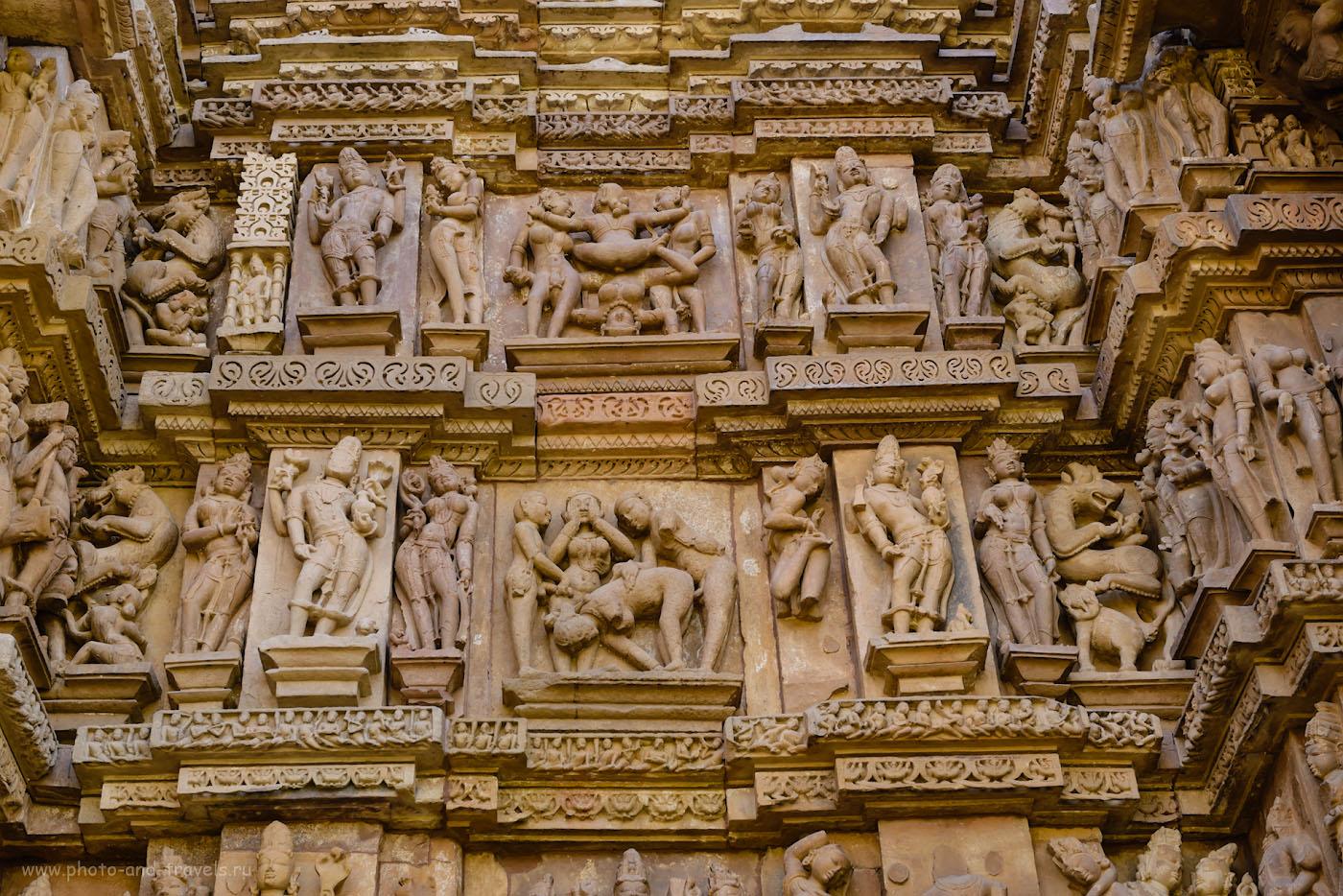 Фото 5. Теперь понятно, почему храмы в Кхаджурахо называют храмами Камасутры? 1/100, 8.0, 500, 50.