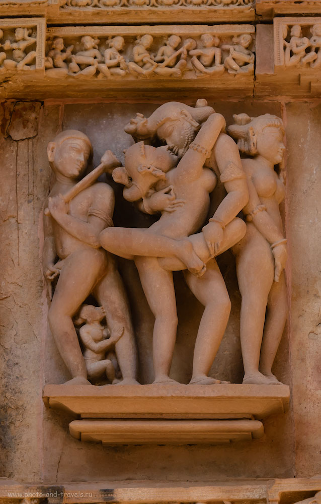 Фото 12. Такими скульптурами прославился Кхаджурахо на весь Свет. 1/400, 10.0, 1600, 170.