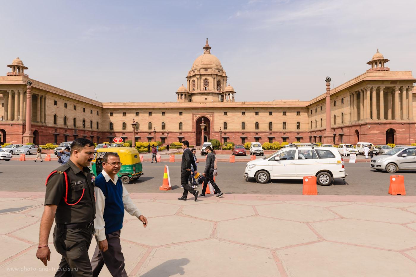 Фото 29. Посещение Правительственного квартала в Дели. Что посмотреть за один день.