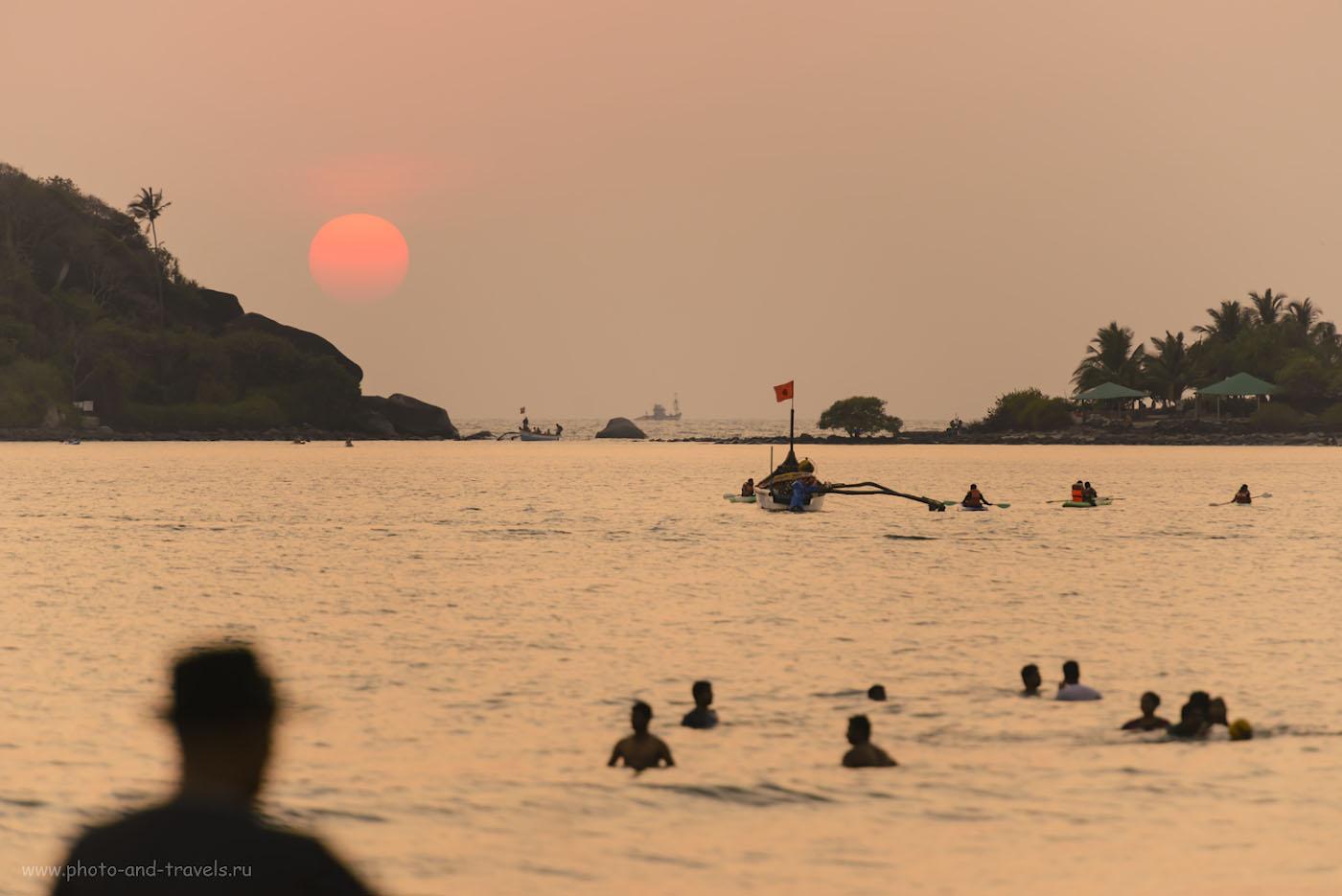 Фотография 20. Невероятные закаты на Гоа. Отзывы туристов о поездке в Индию на отдых «дикарями». 1/640, +0.33, 4.0, 800, 280.