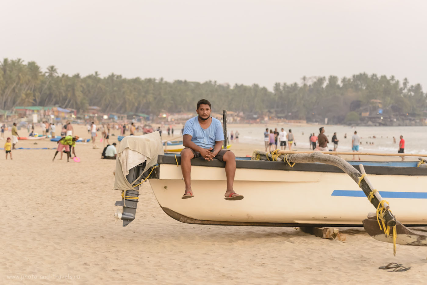 Фото 17. Индия. Отзывы об отдыхе в Гоа. Пляж Палолем вечером. 1/250, +0.67, 4.0, 4500, 110.