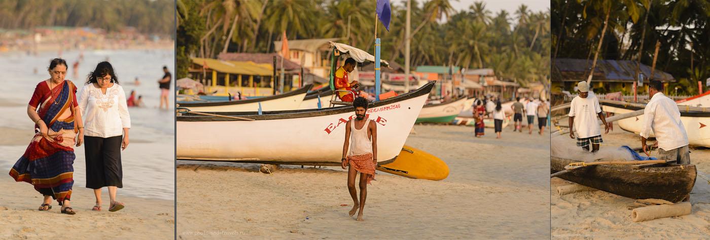 Фото 32. Отдых в Индии. Пляж Палолем на Южном Гоа.