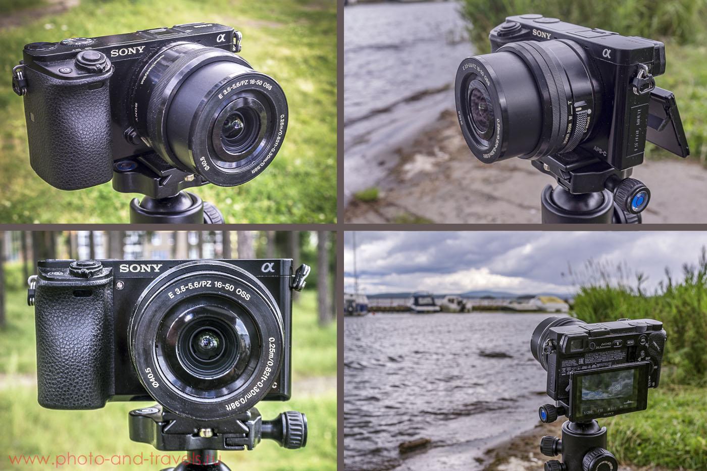 Фотография 1. Беззеркальная цифровая камера Sony A6000 KIT 16-50mm f/3.5-5.6.