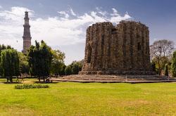 12. Karta so skhemoi kak dobratsia do minareta Kutb-Minar v Deli na metro Otchet i fotografii ob ekskursii siuda na poldnia Pokhod k prezidentskomu dvortsu Rashtrapati-Bkhavan.