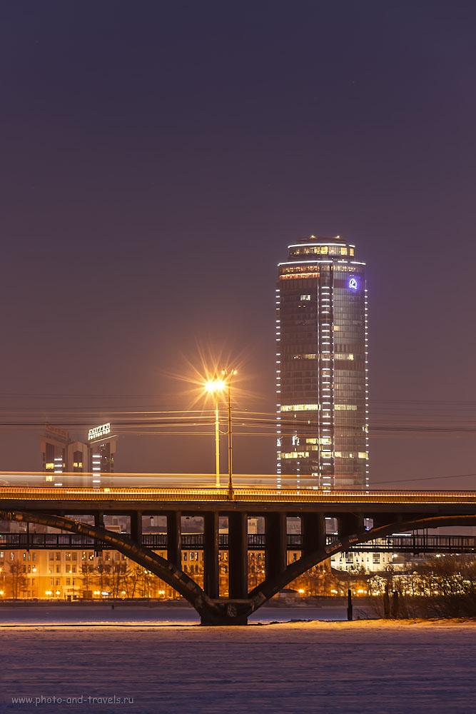 Фото 16. Учимся настраивать фотоаппарат Canon EOS 600D КИТ 18-135mm f/3.5-5.6 для съемки пейзажа ночью. Параметры съемки: выдержка 6 секунд, поправка экспозиции 0EV, апертура f/9.0, светочувствительность ISO 200, фокусное расстояние 135 мм.