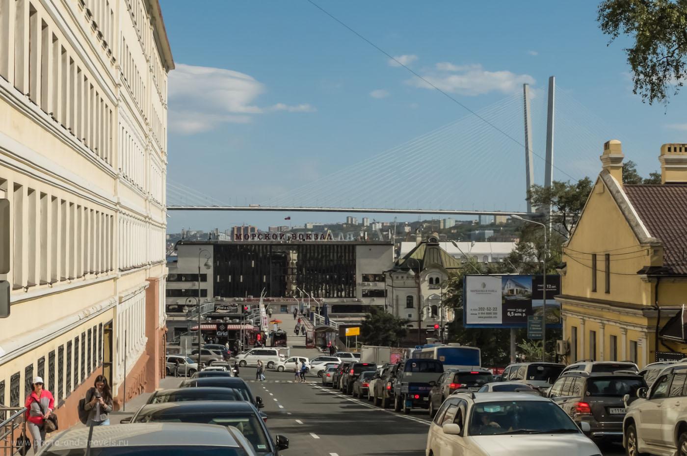 Фото 13. Морской вокзал Владивостока. Фотопрогулка с Fujifilm X30. Настройки: 1/2200, -1.0, 7.1, 200, 16.7.