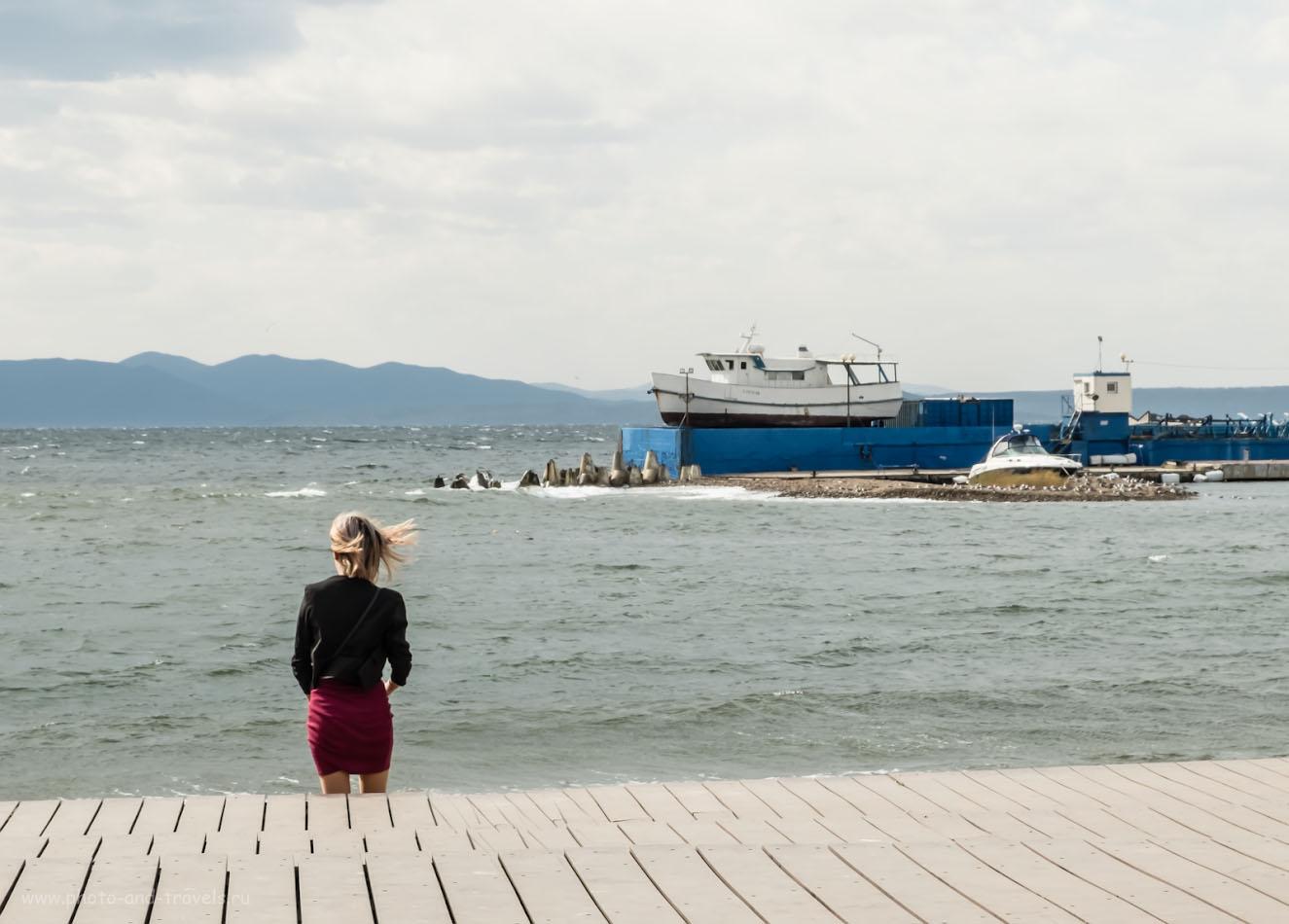 Фото 21. Фотопрогулка по Владивостоку. Вид на Амурский залив. 1/240, +0.67, 8.0, 200, 28.4.