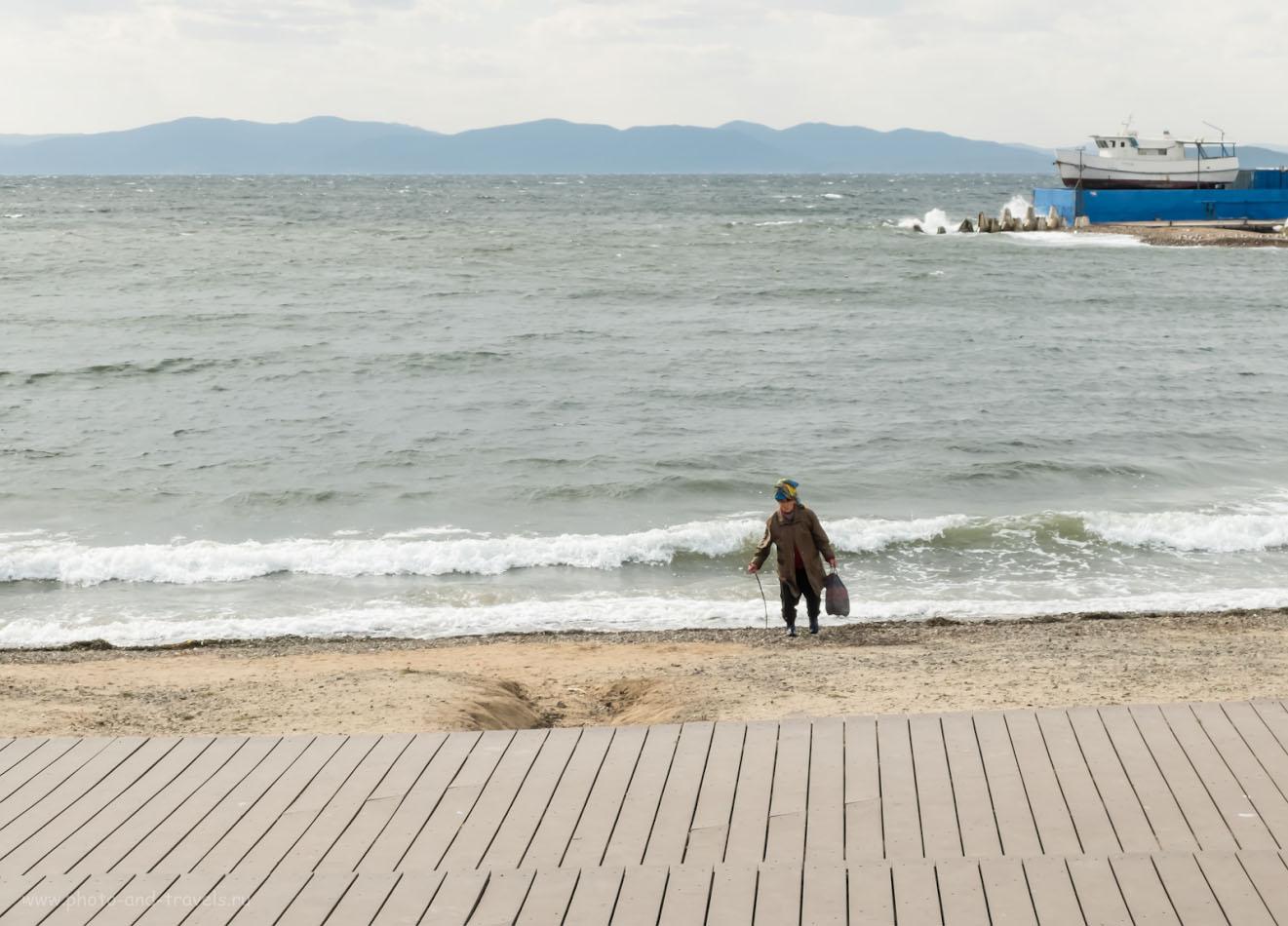 Снимок 23. Афродита из Японского моря. На берегу Тихого океана и не такие метаморфозы случаются. Фотопрогулка по Владивостоку с камерой Fuji X30. 1/220, +0.67, 8.0, 200, 20.2.