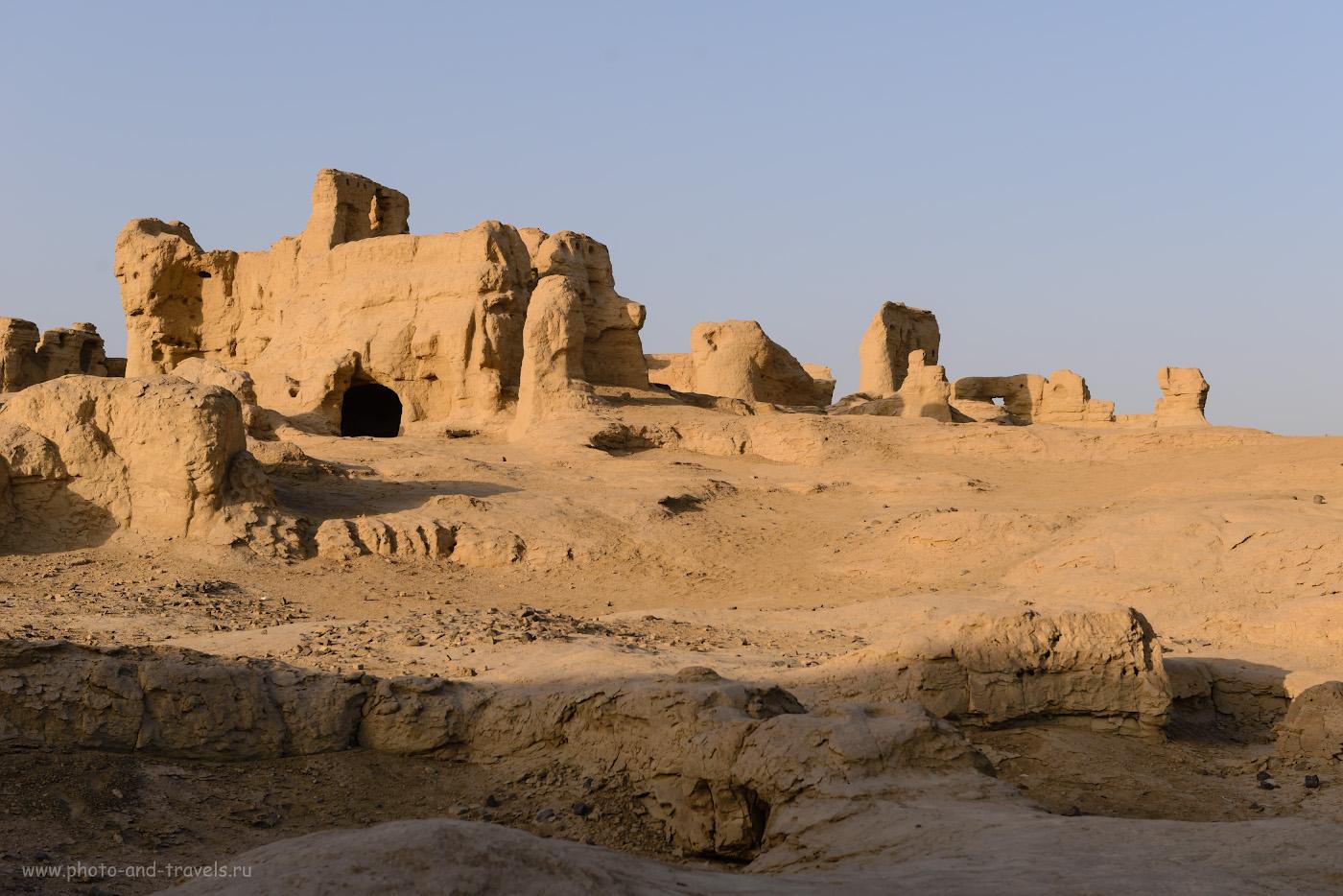 Фотография 8. Таинственные руины городища Цзяохэ. Поездка из Урумчи в Турфан самостоятельно. Приключения россиян в Синьцзян-Уйгурском автономном районе Китая.