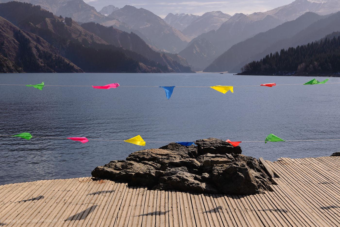 Фото 15. Небесное озеро (Тяньчи) в СУАР в Китае. 1/500, -1.0, 8.0, 100, 40.