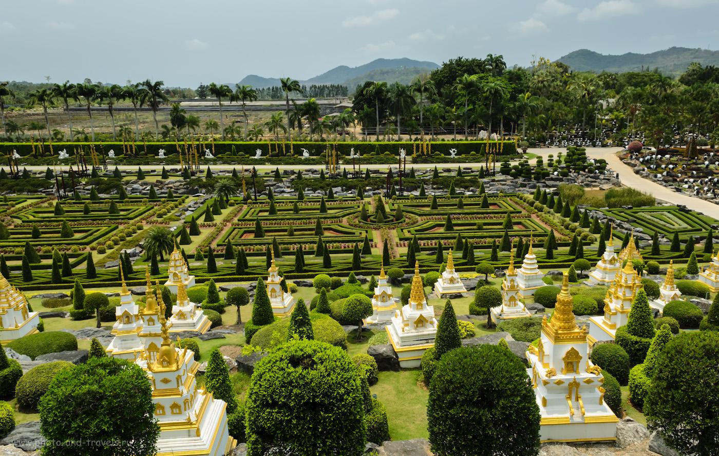 29. Версаль в саду Нонг Нуч. Отзывы туристов о поездке на экскурсию в Таиланде самостоятельно.