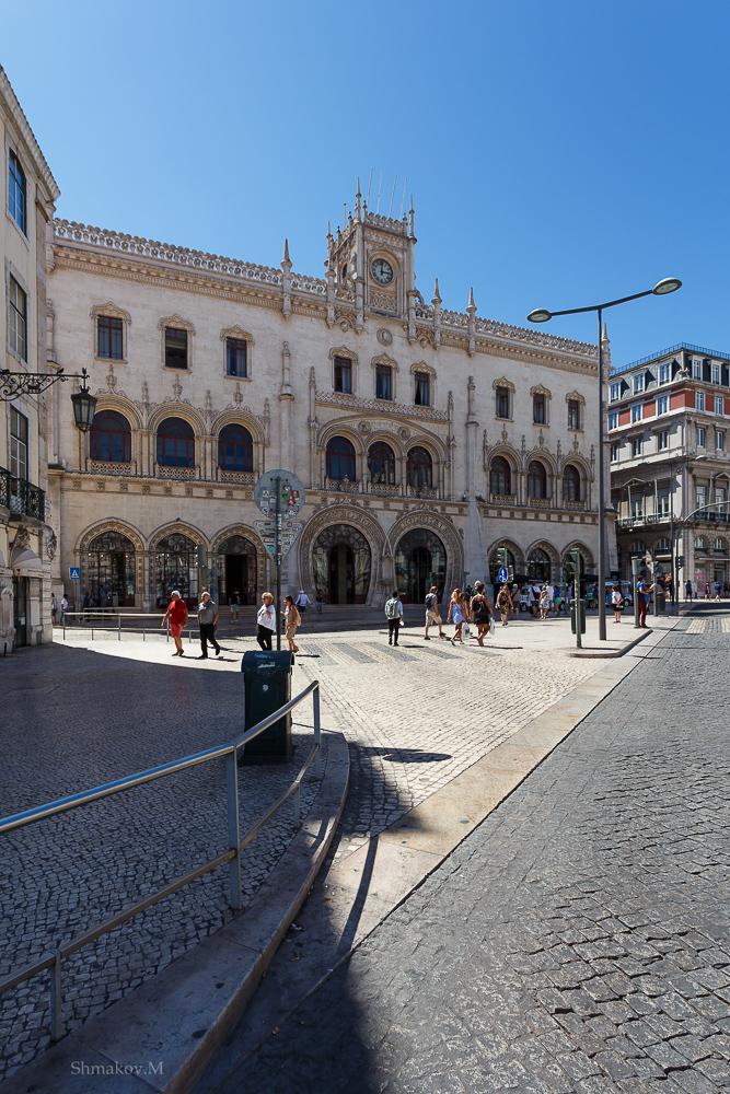 Фото №18. Вокзал Росиу в Лиссабоне. Отчеты туристов о поездке в Португалию самостоятельно. 1/320, 0, 9, 100, 17.