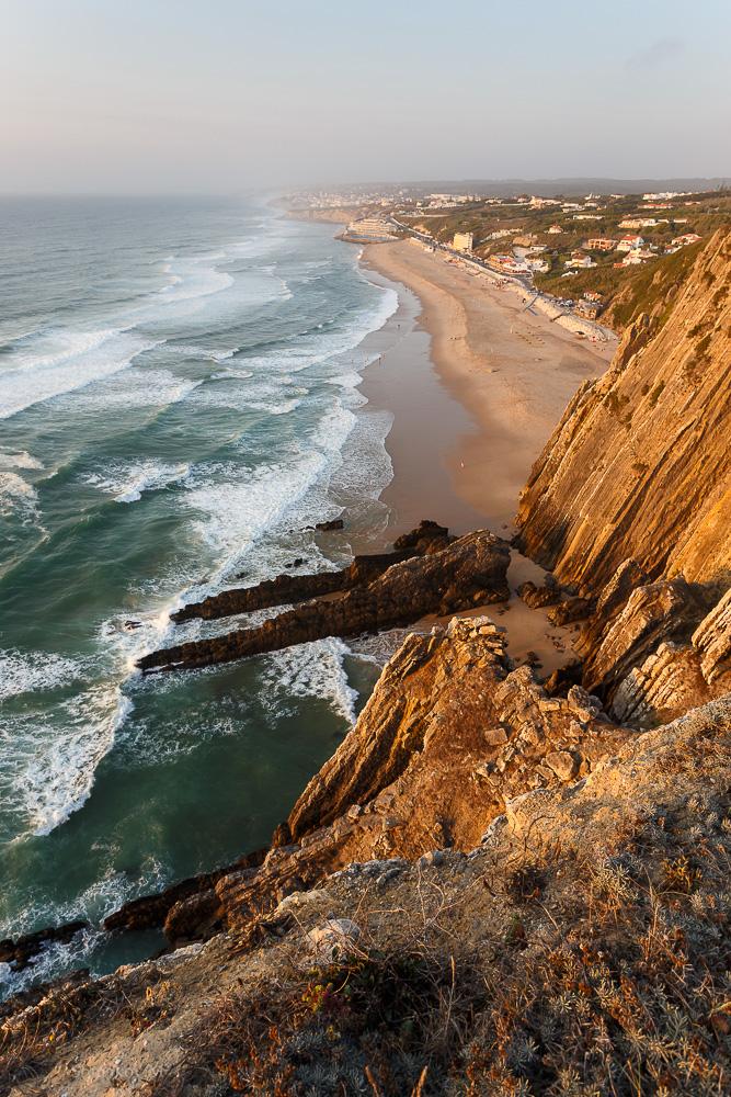Фото № 3 Прайя Гранде (Praia Grande) на закате. Canon EF 17-40, 1/40, 0, 9. 100, 22