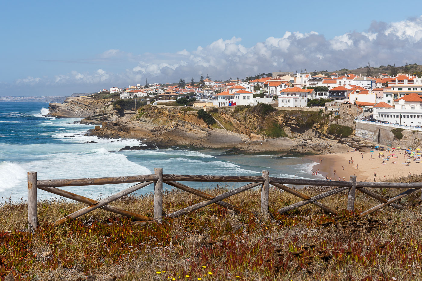 Фото № 5. Прайя даш Макаш. Поездка на отдых в Синтру. Впечатления от Португалии. Камера Canon EOS 6D с объективом Canon EF 24-70, 1/640, - 1, 9, 100, 61.