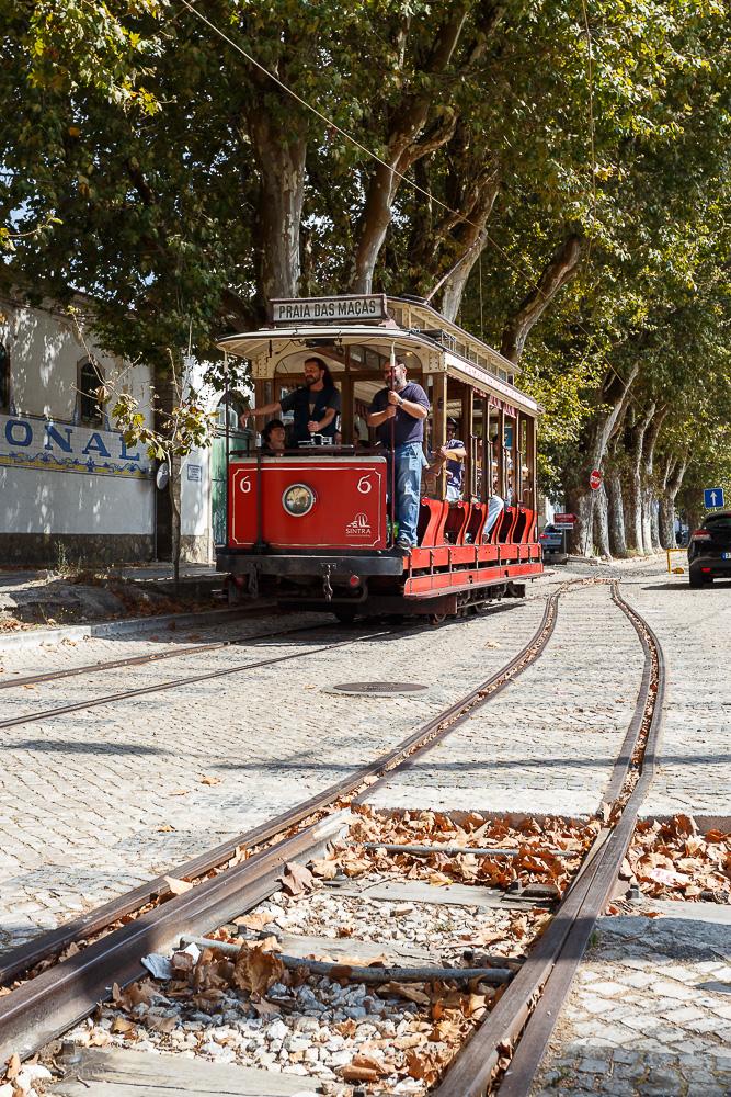 Фото №14. Трамвай в Синтре. Путешествие в Португалию самостоятельно. 1/200, -1, 9, 100, 40.