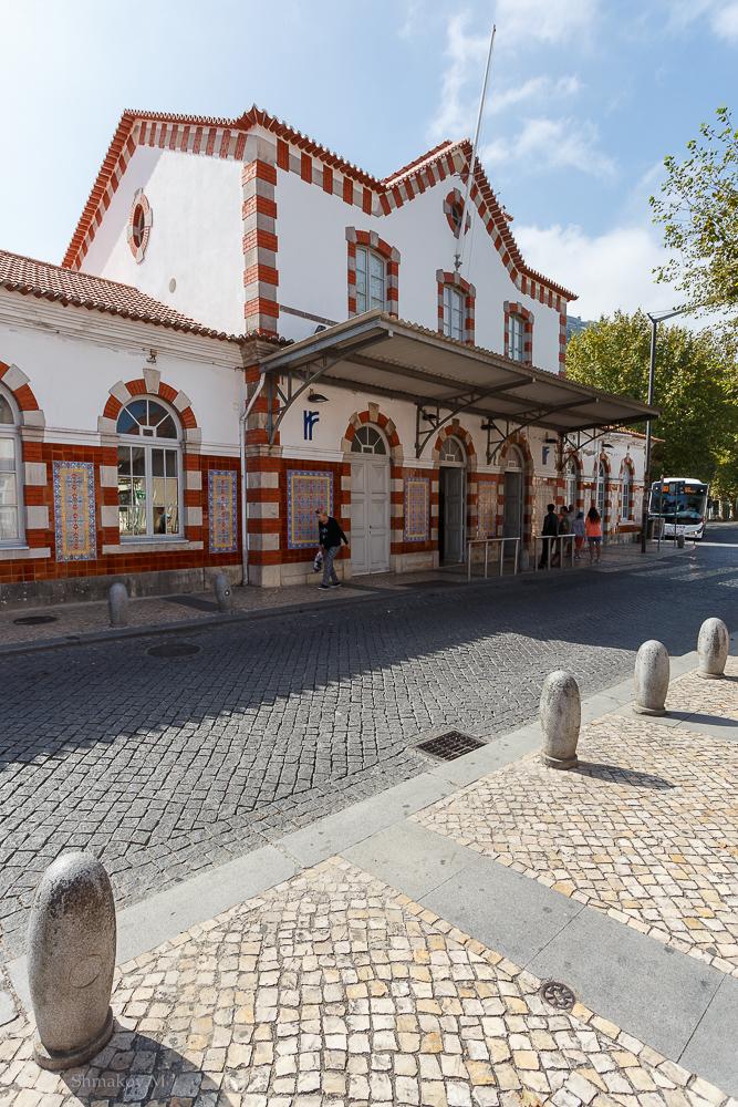 Фото № 7. Вокзал в Синтре. Отзывы туристов об экскурсии в Синтре. Поездка в Португалию. 1/200, 0, 9, 100, 17.