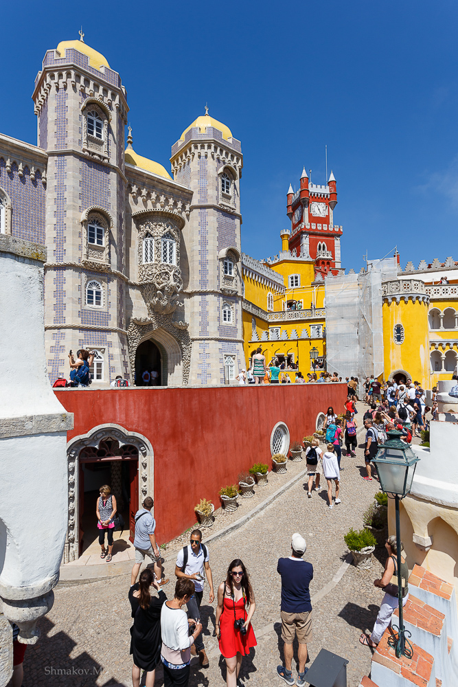 Фото №10. Замок Пена. Отзывы туристов об экскурсиях на отдыхе в Синтре. Поездка в Португалию. 1/320, 0, 9, 100, 17.