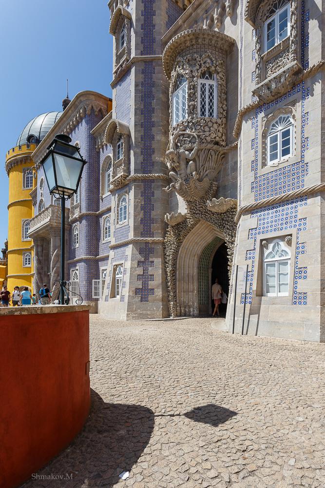 Фото №11. Замок Пена. Отзывы туристов о достопримечательностях Синтры. Как поехать отдыхать в Португалию самостоятельно. 1/320, 0, 9, 100, 17.