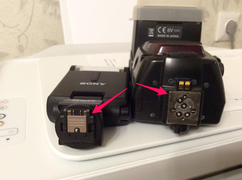 Kak peredelat vspyshku Nikon pod Sony A6000