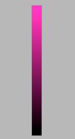 Рисунок 33. Понятие насыщенности в теории цвета.