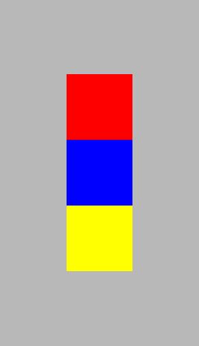 Фото 40. Красный (R:255, G:0, B:0), синий (R:0, G:0, B:255)и желтый (R:255, G:255, B:0). У всех яркость 100%. Но светлота красного 61%, синего 0% и желтого 100%. Изучаем теорию цвета.