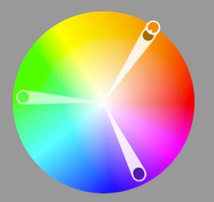 Фото 47. Цветовая гармония триады. Изучаем теорию цвета для фотографов.