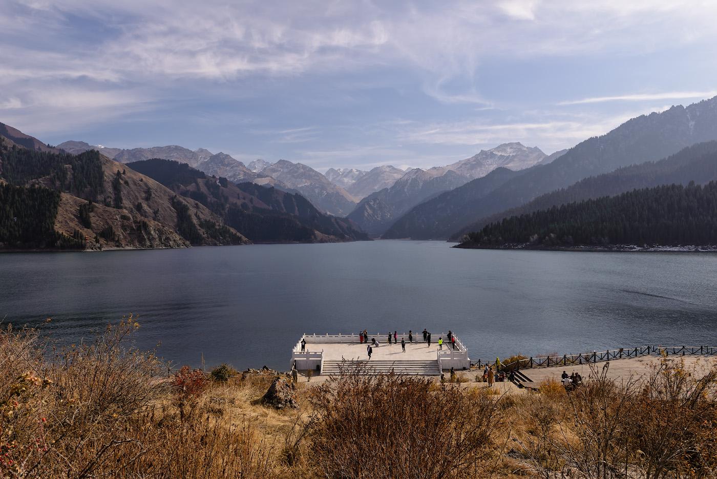 Фото 7. Озеро Тяньчи (Tianchi Lake) в горах Сяншань в окрестностях Урумчи. Как мы съездили в Китай самостоятельно третий раз. 1/500, -1.0, 8.0, 100, 24.