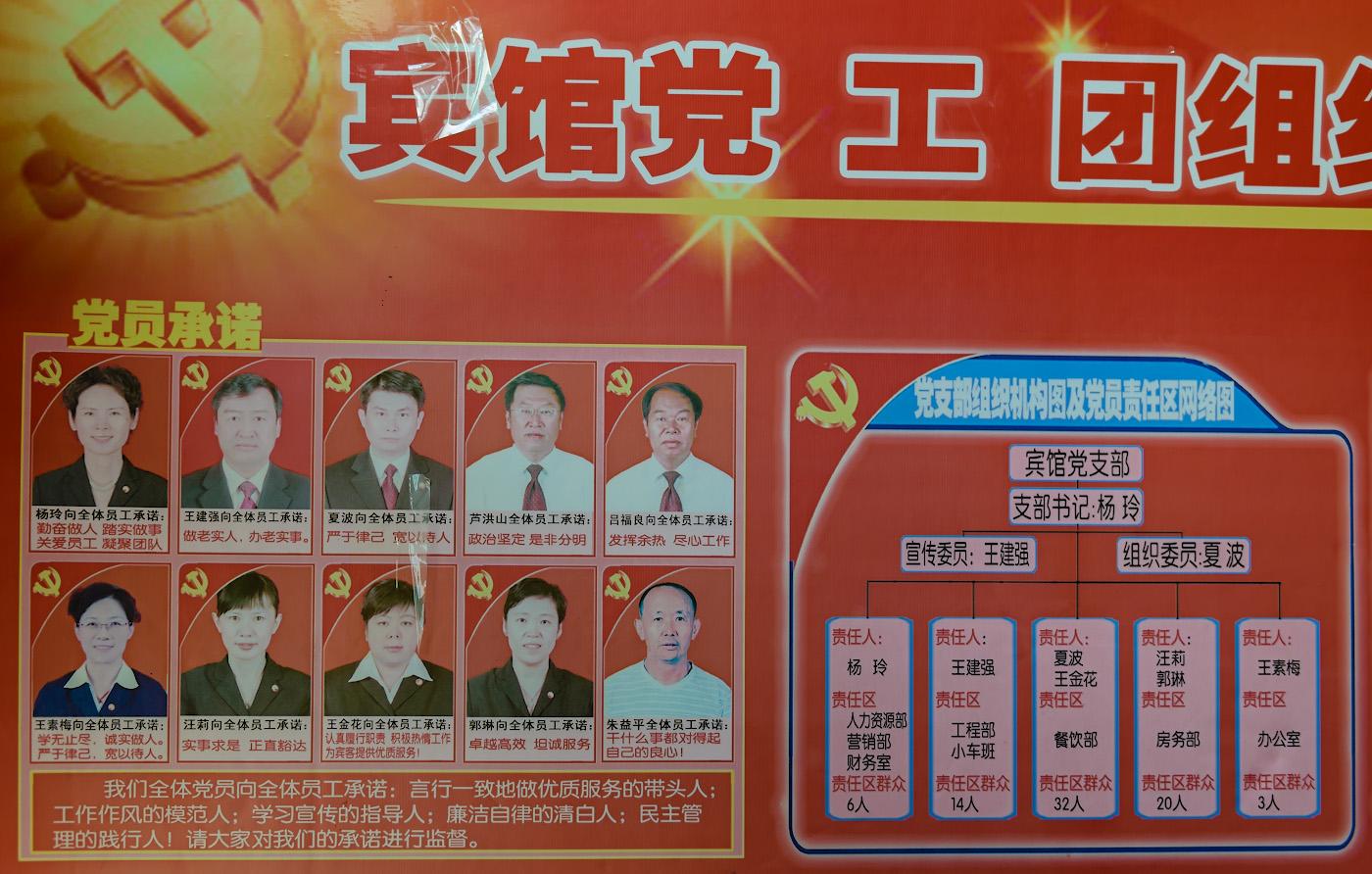 Фотография 2. Доска почета в китайском общежитии, где находится хостел «Ziyou International Youth Hostel». Где поселиться в Урумчи. Отзывы о поездке в Китай самостоятельно. 1/80, 3.2, 640, 34.