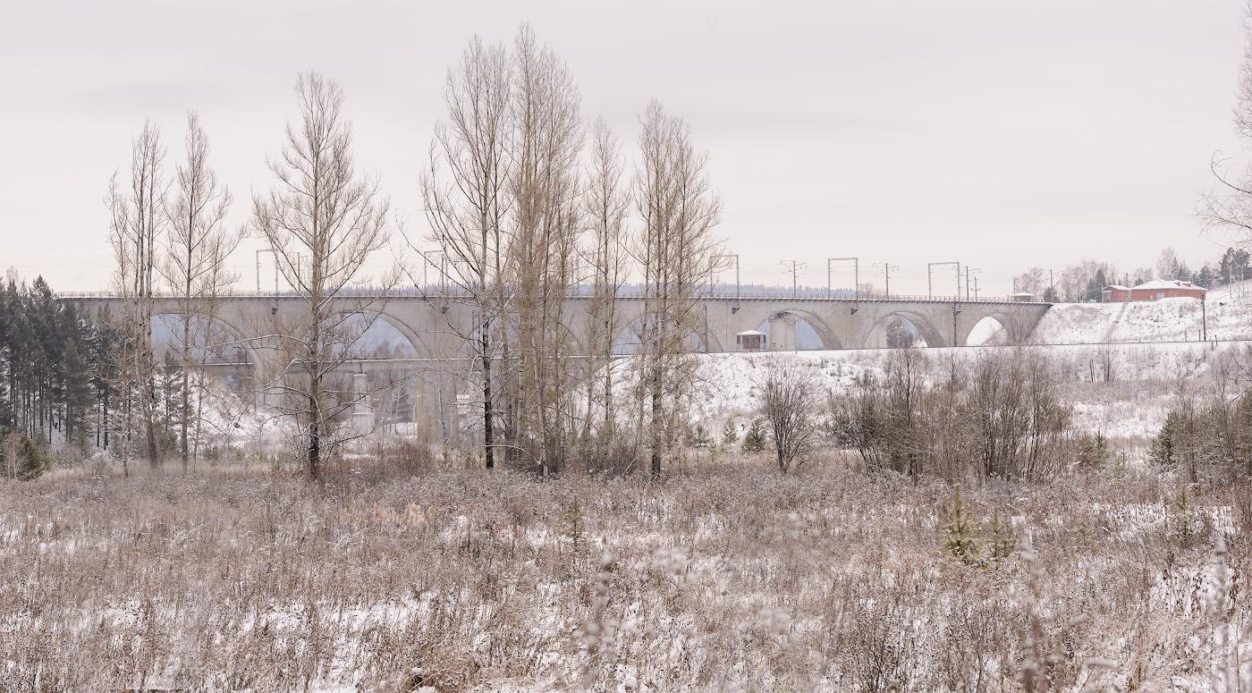 Фото 4. Виадук в окрестностях Красноуфимска. Что интересного можно увидеть по пути в Пермский край. 1/200, +0.33, 8.0, 560, 85.