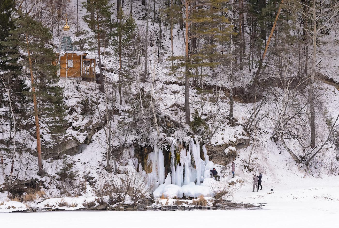 Фото 10. Водопад Плакун – одна из известных достопримечательностей Пермского края. Включите его в маршрут своего автомобильного путешествия. 1/250, 9.0, 2800, 120.