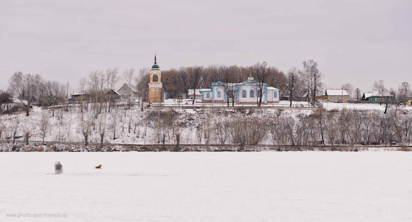Фото 3. Церковь святых Перта и Павла в Суксуне. Построили ее по распоряжению Анкифия Никитича Демидова в 1729-1730 годах. 1/160, +1.7, 8.0, 560, 70.