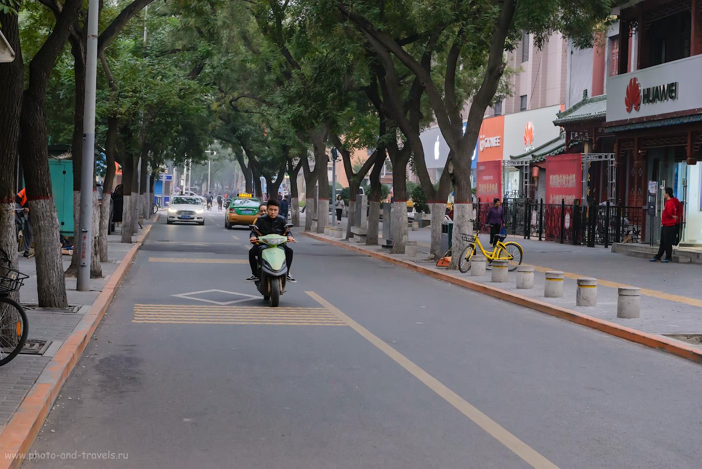 Фото 14. Где поесть в Сиане. На улочке West 1st Road, недалеко от Колокольной башни. Отзывы туристов о поездке в Китай самостоятельно. 1/160, -0.67, 8.0, 4000, 70.