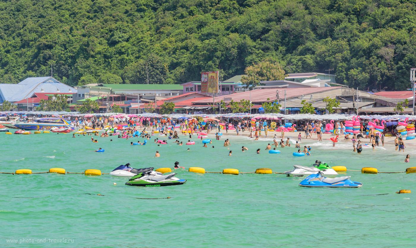 Фотография 24. Пляж Ta Waen Beach на острове Ко Лан (Koh Larn). Стоит ли ехать отдыхать в Паттайю? 1/250, +0.67, 9.0, 200, 125.