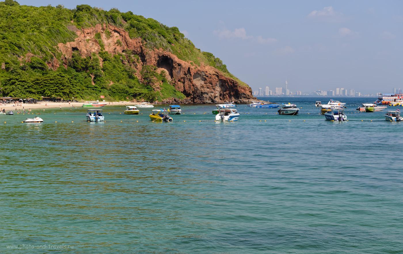 Фото 16. Пляж Манки Бич (Nual Beach) на острове Ко Лан. Там живут обезьяны. Где купаться в Паттайе. 1/320, -0.33, 8.0, 100, 70.