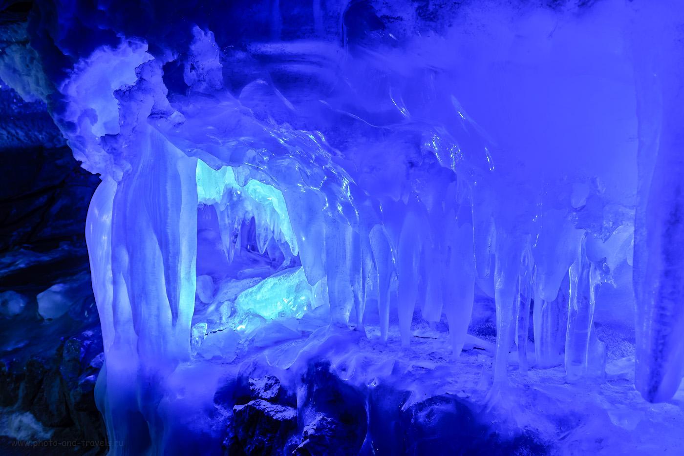 Фотография 7. Сосульки в Кунгурской ледяной пещере. Отзывы о самостоятельной экскурсии во время путешествия в Пермский край на машине. 1/10, +0.33, 6.3, 400, 27.
