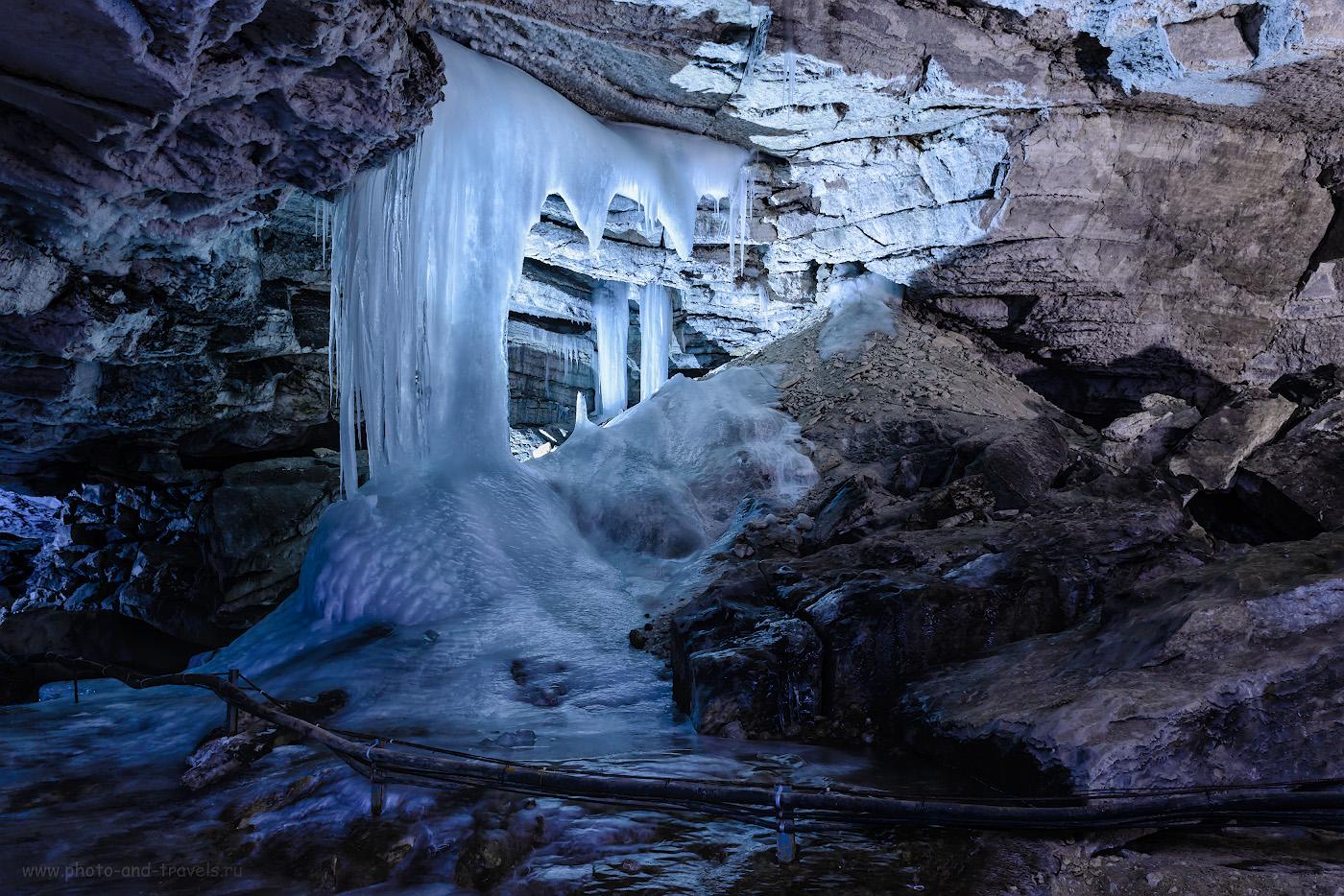 Фотография 9. Теперь понимаете, почему Кунгурскую пещеру называют Ледяной? Отзыв о самостоятельной экскурсии. 2.5, 8.0, 400, 24.