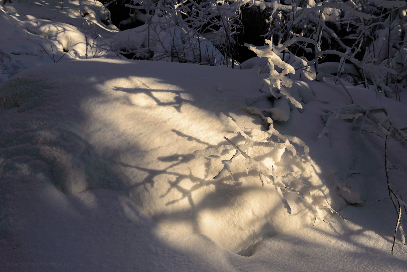 Фотография 18. Зимние узоры на Колпаках. Отчет о походе на гору. 1/125, 8.0, 100, 32.