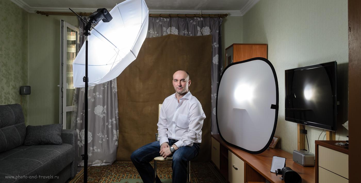 Фото 11. Снимаем портрет в домашней фотостудии со вспышками YongnuoYN685N. Как создать студию дома. Снято на камеру Никон Д5100 КИТ 18-55 с контроллером YongnuoYN-622N-TX. 1/160, 5.6, 125, 18.