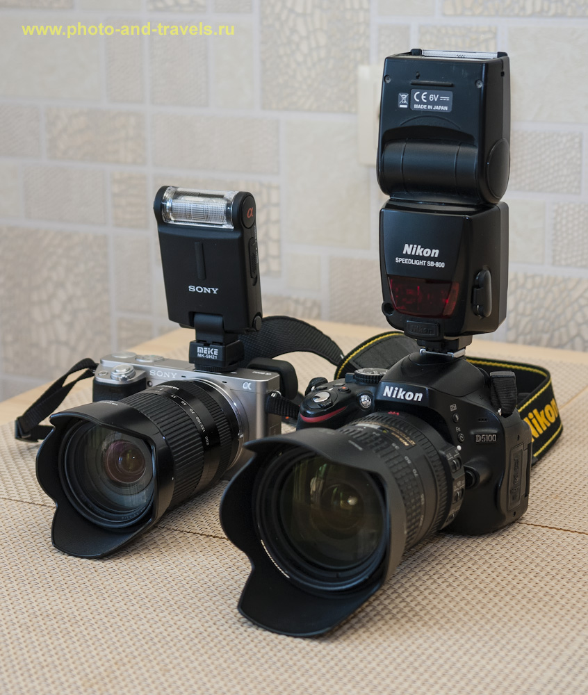Фотография 1. Что выбрать для семейной съемки: зеркалку или беззеркалку? Беззеркальная камера Sony A6000 с тревел-зумом Tamron 18-200mm F/3.5-6.3 Di III VC (Model B011) Sony E. Выглядит почему-то меньше и легче, чем зеркальный фотоаппарат Nikon D5100 с тревел-зумом Nikon 18-200 mm f/3.5-5.6 G. Настройки: выдержка 1/50, экспокоррекция 0EV, f/4.0, ISO 160, ФР=32.3 мм.