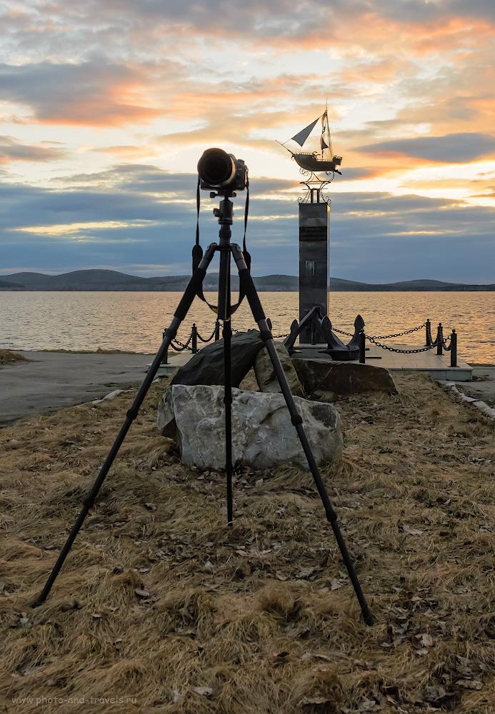 Фото 4. Съемка фотоаппаратом с тяжелой оптикой на штативе Sirui T-2204X с головкой Sirui G-20KX в горизонтальном положении, в принципе, проблем не вызывает. 1/500, -2.0, 5.6, 800, 17.