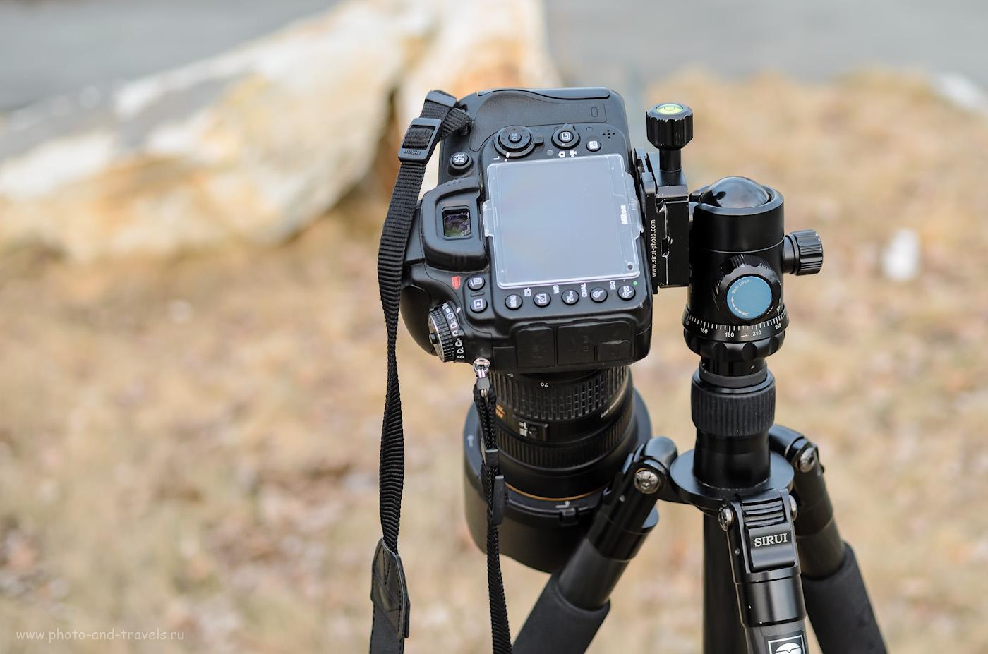 вам, как крепить фотоаппарат на штатив желаете
