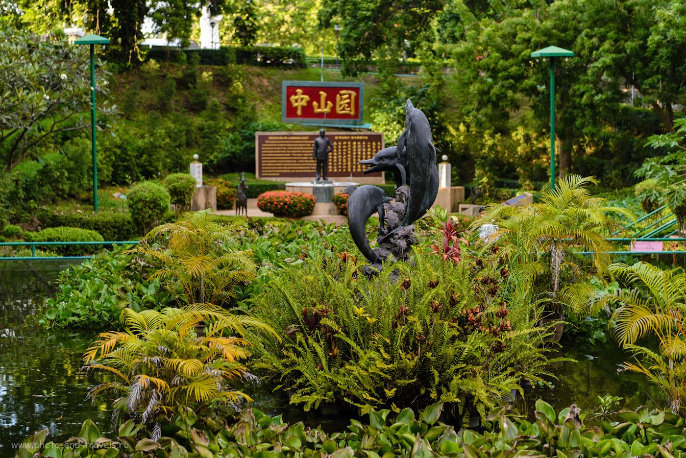 Фото 10. Дельфины в саду Zhong Sun Gardens. Отзывы туристов об экскурсиях в Паттайе. Что можно посмотреть недорого, отдыхая в Таиланде. 1/160, 2.8, 160, 70.