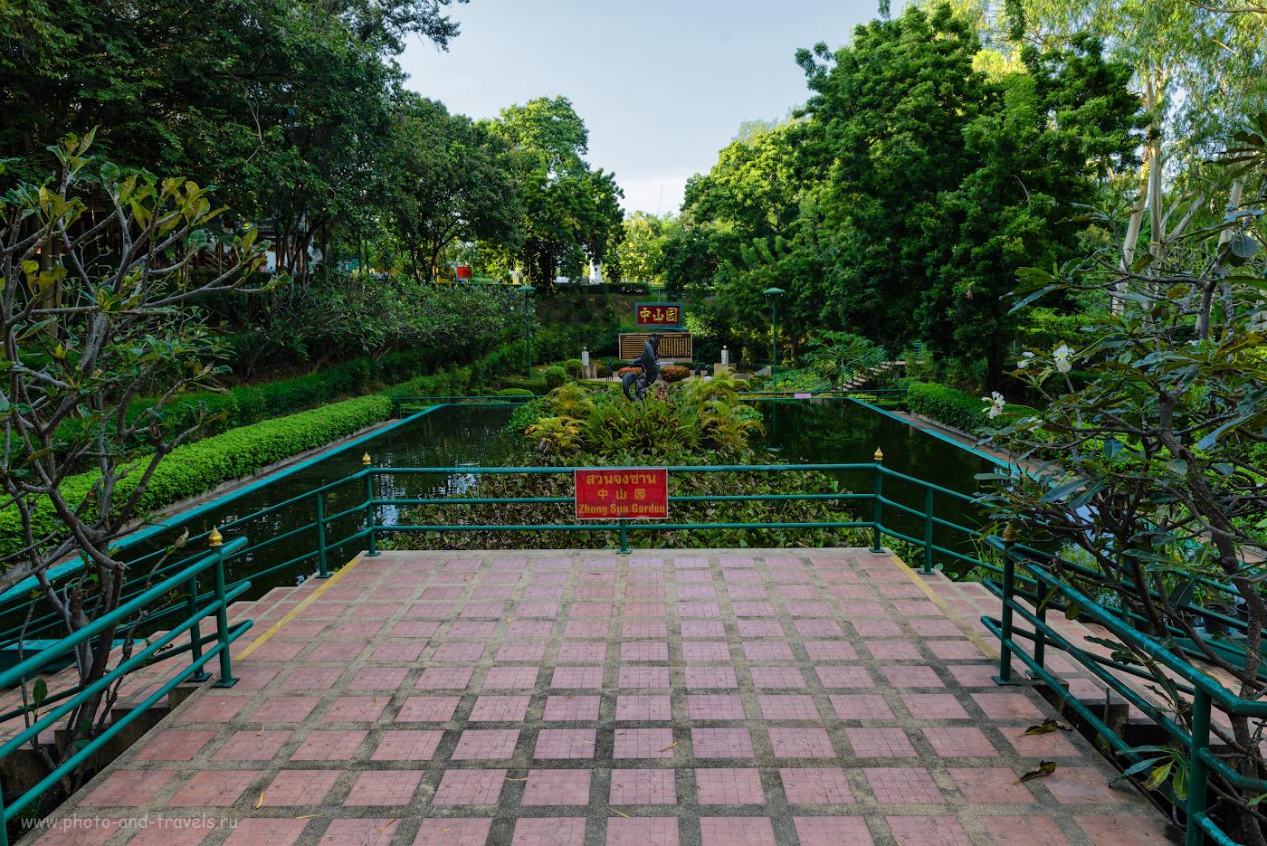 Фотография 9. Сад Zhong Sun Gardens в парке Wang Sam Sien у подножья Биг Будды. Какие достопримечательности можно посмотреть в Паттайе самостоятельно. 1/60, -1.0, 8.0, 100, 24.
