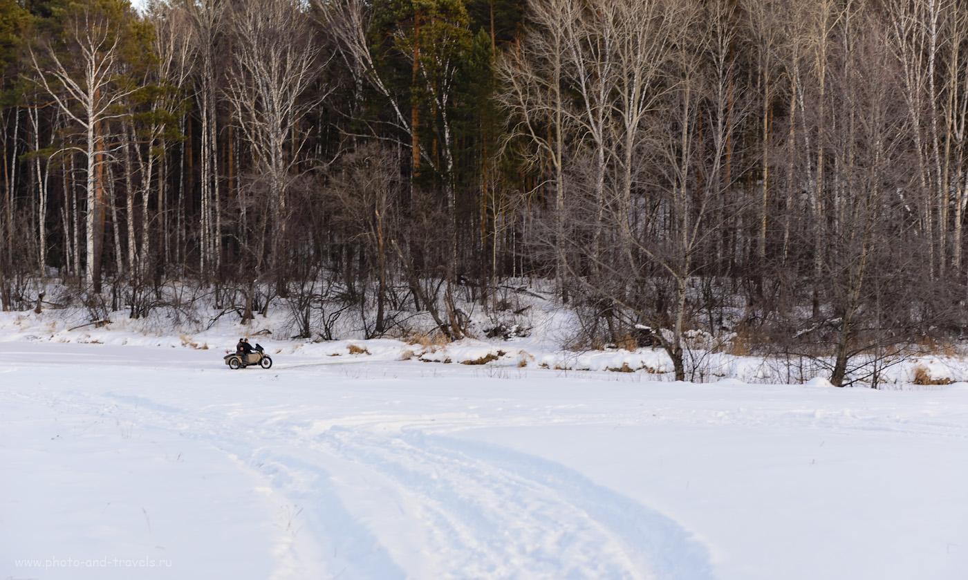 Фотография 19. Уральские туристы едут смотреть Шайтан-камень зимой. 1/160, +1.0, 3.5, 220, 70.