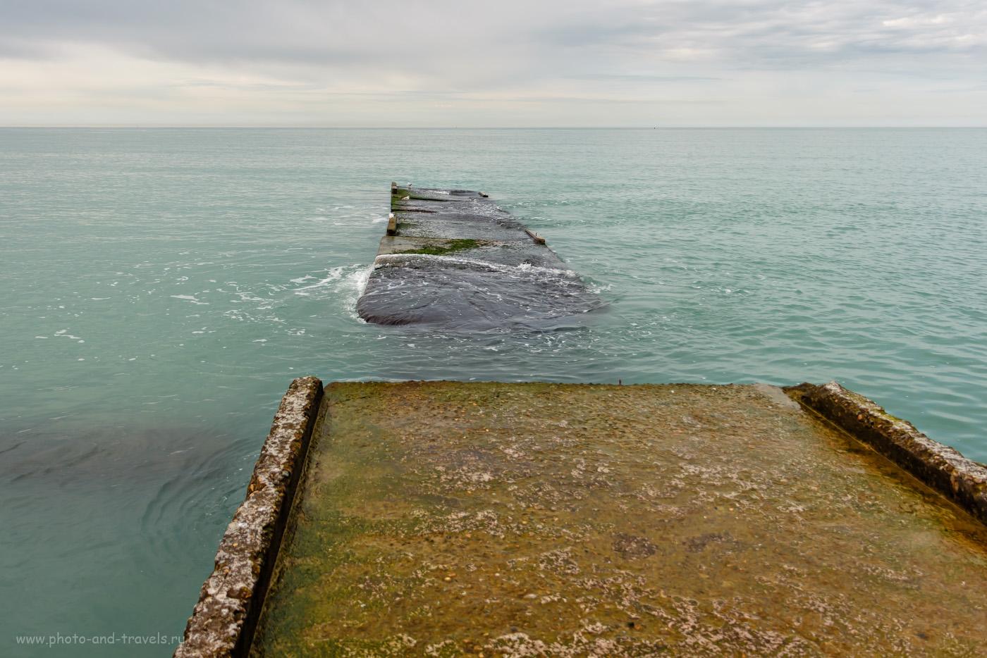 Фото 4. Отпускное настроение. Черное море в Сочи в несезон. 1/640, f/3.5, ISO 100, 18мм.