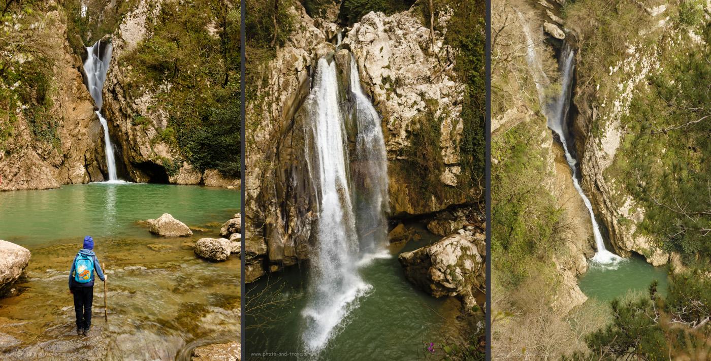Фотография 18. Агурские водопады: Нижний и Верхний. Что посмотреть в Сочи в марте.