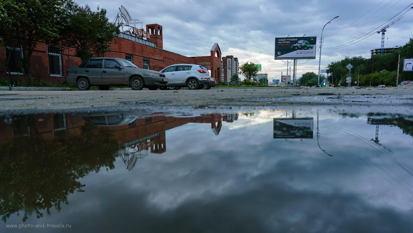 Фото 38. Съемка городского пейзажа на беззеркальный фотоаппарат Sony A6000. 1/50, 3.5, 125, 16.