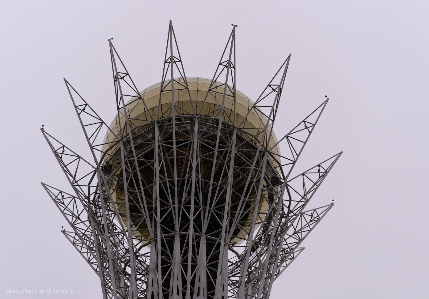 Фото 4. Шар башни «Байтерек» в Астане. Интересные места, которые можно посетить в столице Казахстана за полдня. 1/125, 4.0, 220, 62.