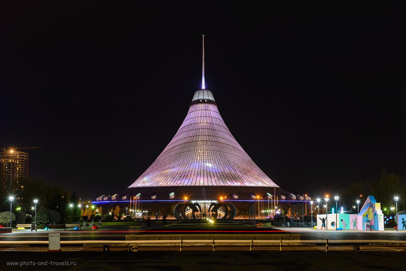 Фото 19. Шатер «Хан-Шатыр» в Астане. Наряду с «Байтереком» – одно из самых известных зданий столицы Казахстана. Отзывы о просмотре достопримечательностей за полдня. 15.0, +0.67, 9.0, 100, 70.