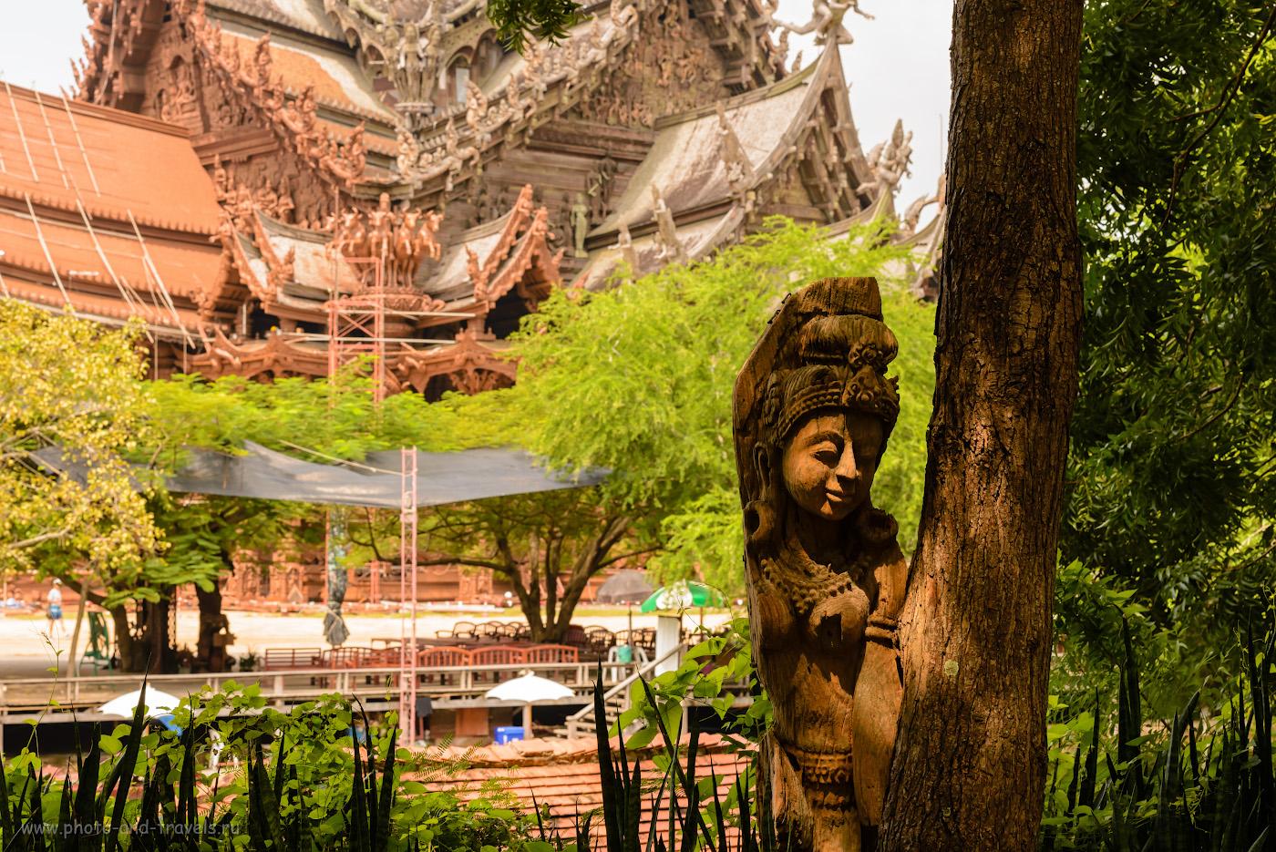 Фотография 13. Поездка в Храм Истины во время отдыха в Паттайе. Почему мне нравится путешествовать по Таиланду. 1/160, -0.67, 10.0, 250, 70.